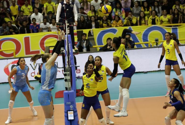 Colombia Vs. Argentina - preolímpico voleibol