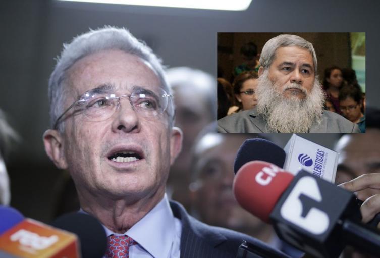 El senador Álvaro Uribe salió en defensa del exguerrillero Francisco Galán.