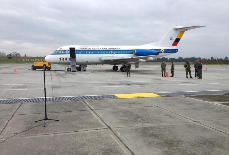Avión presidencial de Colombia