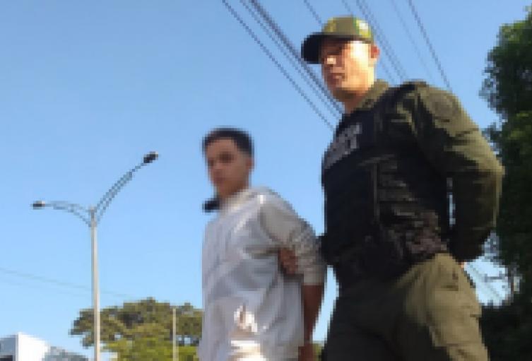 lias Mueco sindicado de ataque a patrulla policial en Medellín, fue asegurado en la cárcel