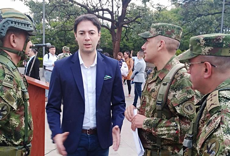 ¿Hay milicias del ELN en Medellín?