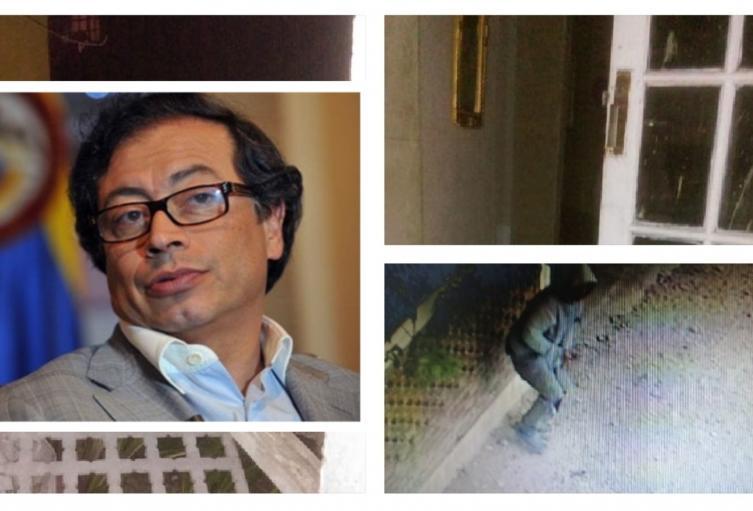 Desconocidos agarraron a piedra la casa de la mamá de Petro