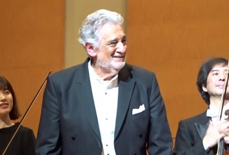 Placido Domingo en una de sus Interpretaciones.