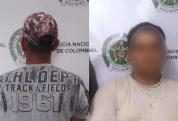 Capturan a dos abusadores de menores de edad en Medellín