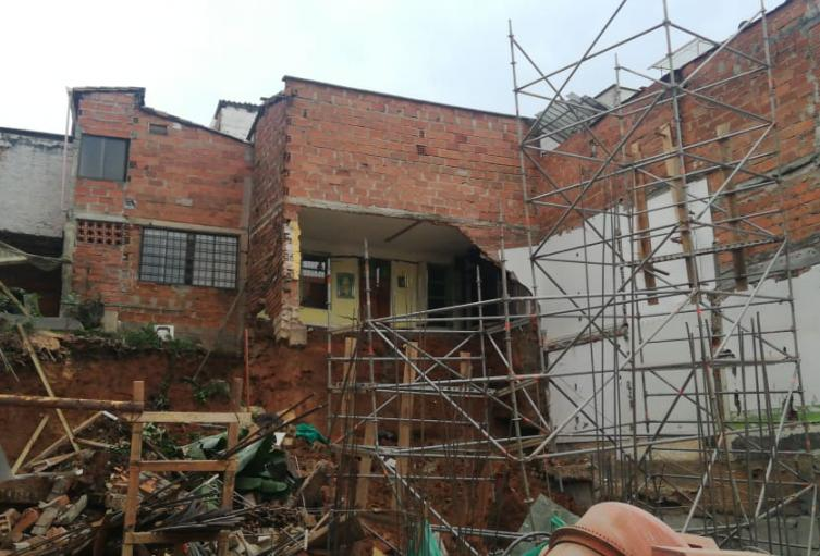 Emergencia en Envigado, Antioquia.