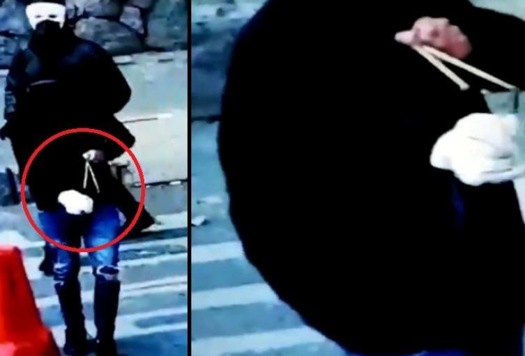 Con balines y explosivos, encapuchados atacan a policías en protestas en la UdeA