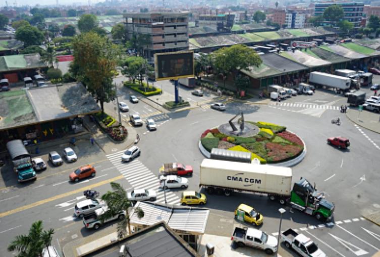 Central Mayorista de Antioquia.