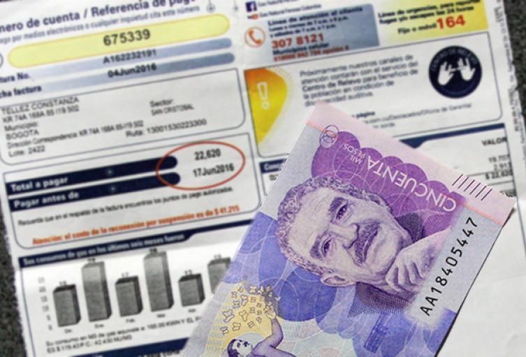 Los usuarios del estrato 1 y 2 que tengan dificultades para pagar en abril, podrán diferir ese pago a 36 meses