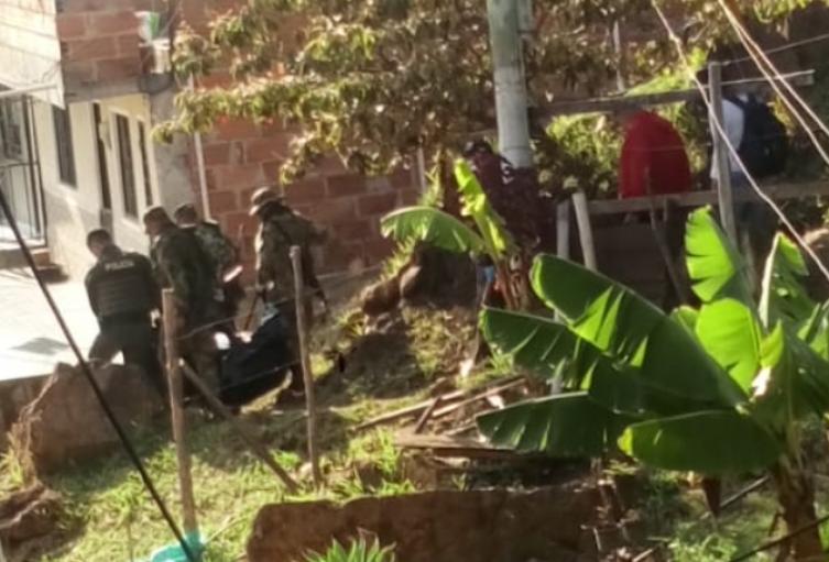 Identifican al adolescente, asesinado y enterrado en un barrio de Bello
