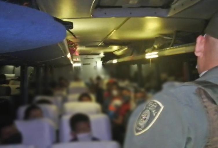 El automotor salió de Bogotá con destino a Sucre, sin estar autorizado.