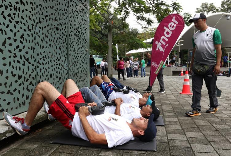 En Medellín se flexibilizó el horario para hacer deporte.