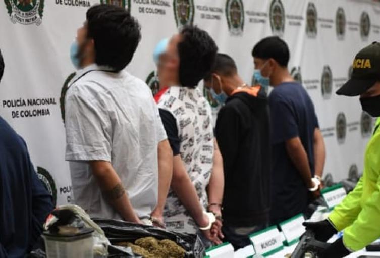 """Capturan cinco """"pesces gordos"""" de combos criminales de Bello"""