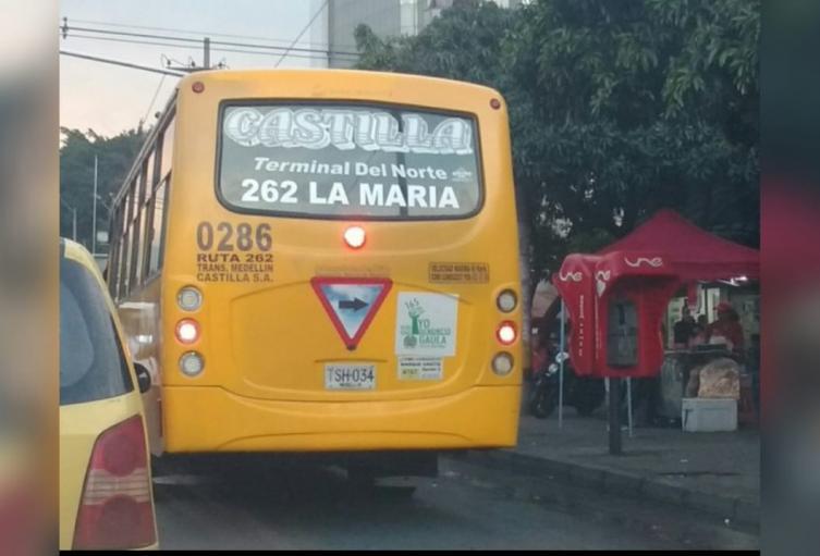 Ruta de bus de Castilla redujo en un 50 por ciento sus actividades por extorsiones de combos.