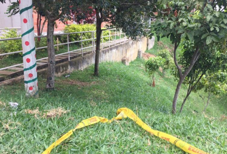 Acribillan a bala a dos hombres en el corregimiento de San Cristóbal de Medellín