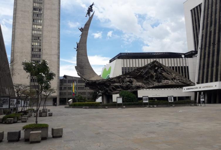Centro administrativo La Alpujarra en Medellín.