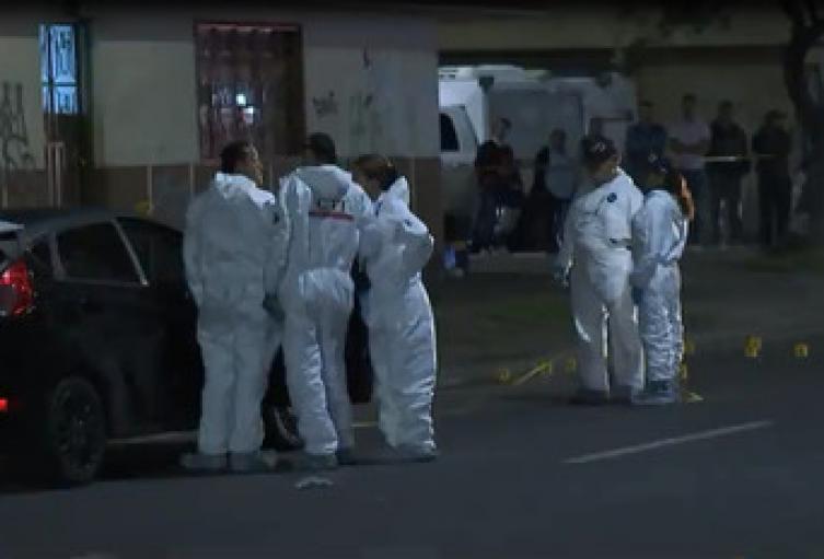 Dentro de los herido hay una mujer y un hombre recibió siete disparos.