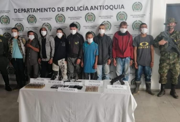 Los detenidos están señalados de homicidio y extorsión.