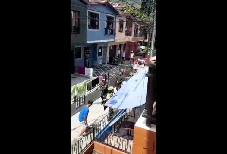 El lugar de los hechos. Barbosa, Antioquia