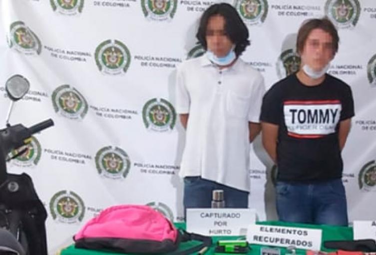 Videos delatan a seis presuntos ladrones en Medellín