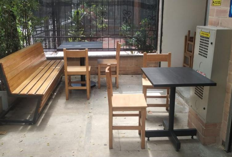 Habrá distanciamiento entre las mesas de los restaurantes.