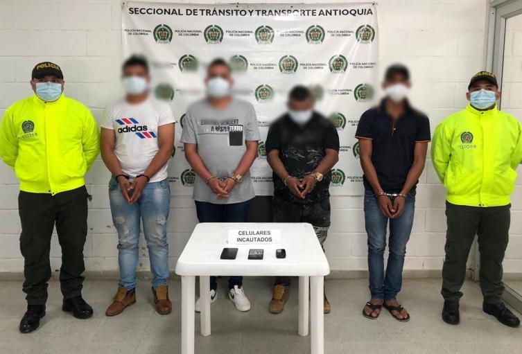 Los capturados son señalados de pertenecer a Los Caparros.