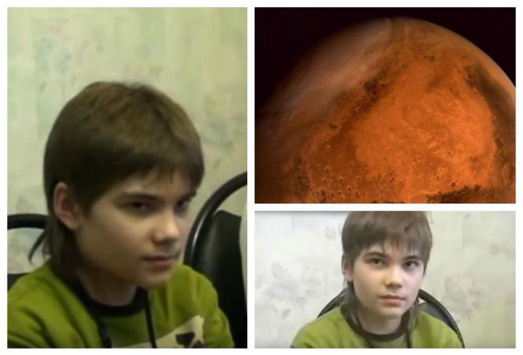 Boriska - niño Ruso