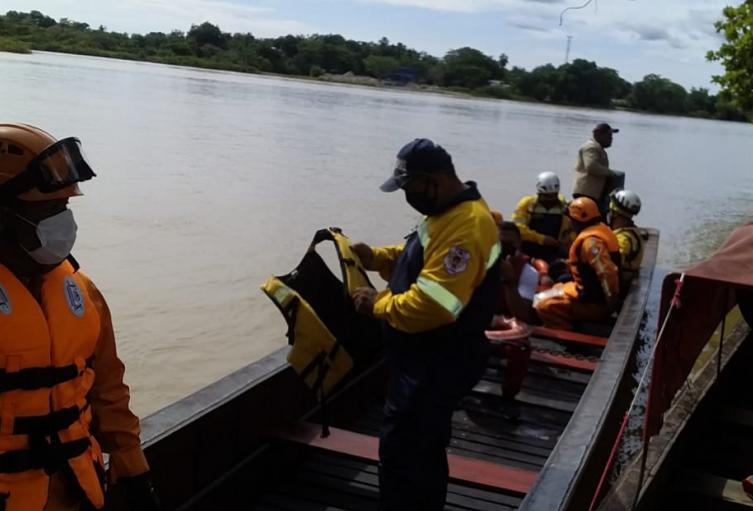 Accidente de una lancha en El Bagre, Antioquia