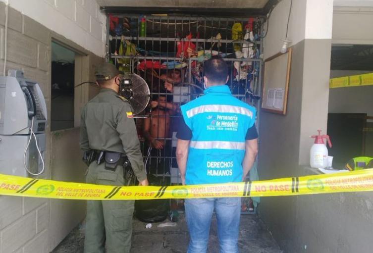 La Personería solicitó suspender el traslado de internos entre estos lugares.