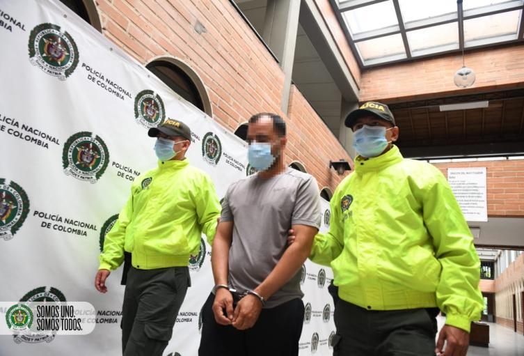 """El jefe del combo Villa Flora de Robledo, se quedó """"Mudo"""" cuando le llegó la policía"""