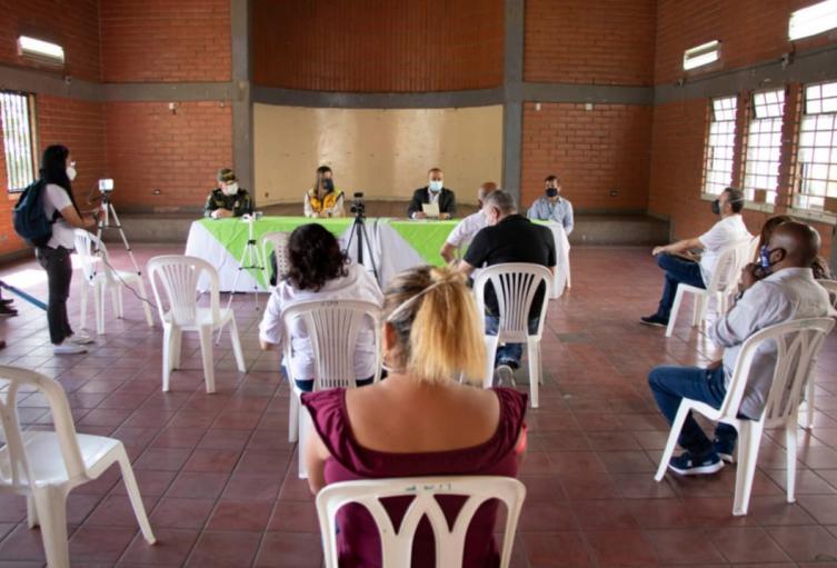 La Alcaldía de Medellín instaló PMU para evitar la propagación del coronavirus.