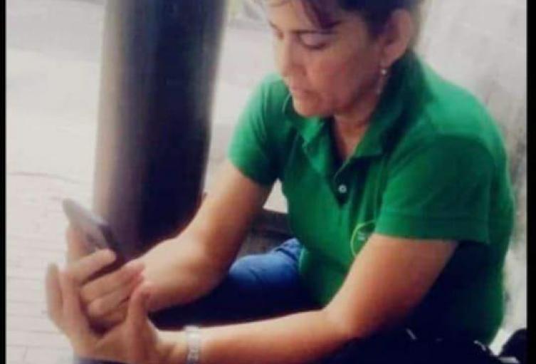 Sandra Banda Meneses, líder social asesinada en Tarazá, Antioquia.
