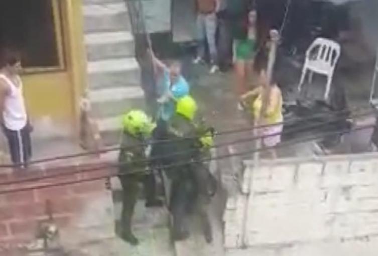 Referencia de asonada en Medellín