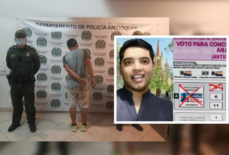 """""""Caído de la rasca"""" sorprenden a concejal de Amagá violando la cuarentena"""