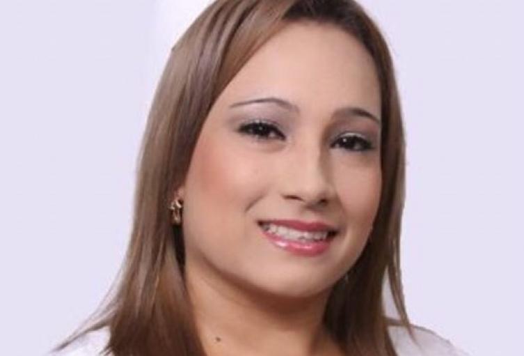 Auxiliar de enfermería, Deicy Johana Gómez.