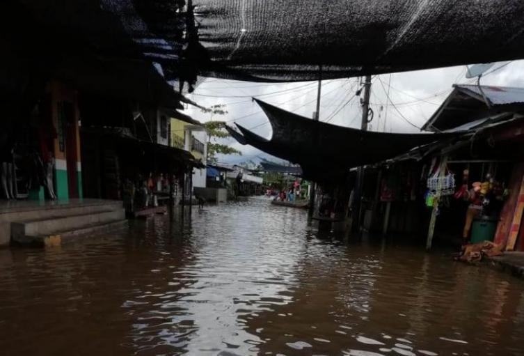93 municipios están en riesgo de deslizamientos y crecientes súbitas.