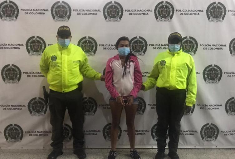 """Encarcelan a la """"diabla"""" por asesinar a dos mujeres en el centro de Medellín"""