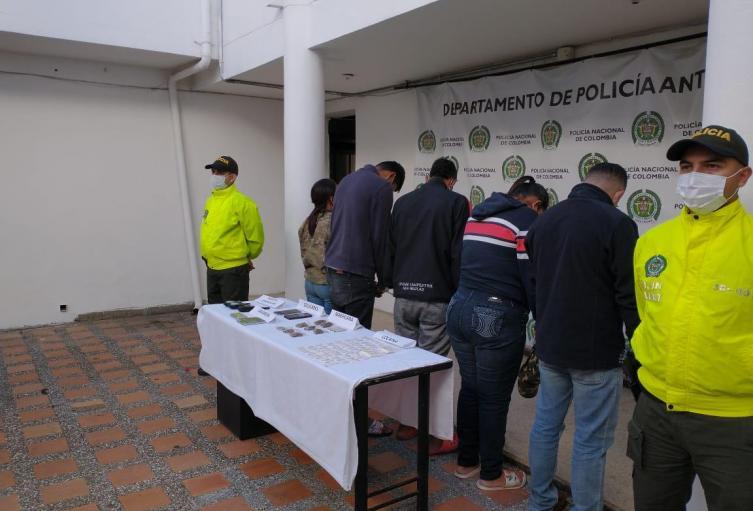"""Capturan en Marinilla a cinco jibaros de """"los Pamplona"""""""