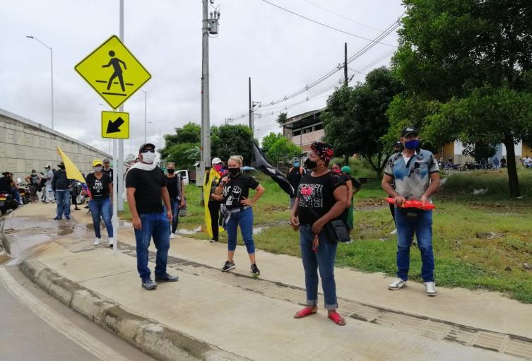 Protestas en Caucasia, Antioquia