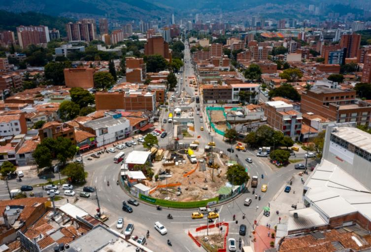 ¡Atención! La calzada norte de la Calle Colombia, tendrá cierre total por obras del intercambio vial en la avenida 80