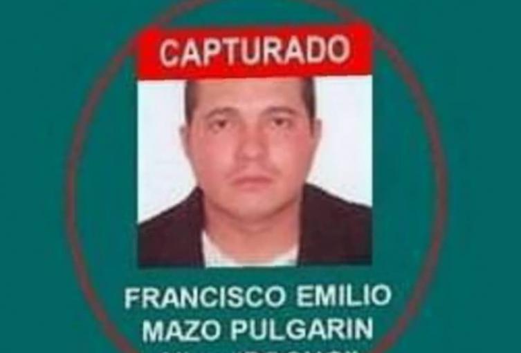 Capturan a presunto jefe de estructuras criminales de Bello, Antioquia