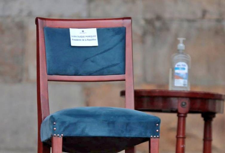 Críticas a Duque por ausencia en la ceremonia del perdón y la reconciliación en Bogotá