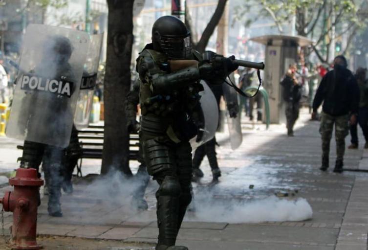 Corte ordenó suspender uso de escopetas del Esmad en protestas
