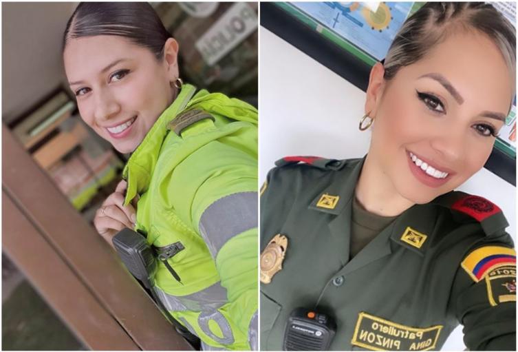 Patrulleras de la Policía