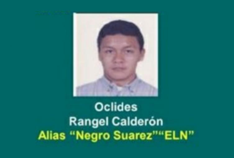 """Asesinaron al cabecilla del ELN en Arauca, alias """"Negro Suárez"""""""
