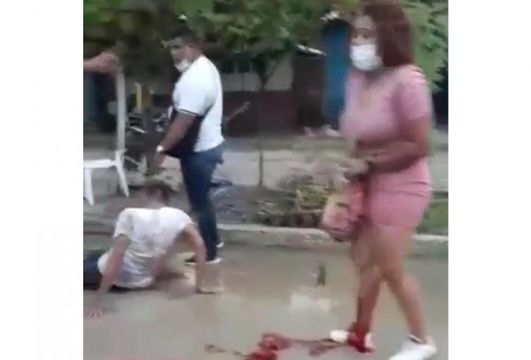 Agente de la Sijin resultó herida al enfrentarse a bala con un presunto cabecilla