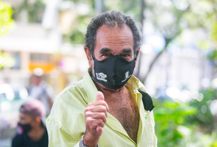 Uso del tapabocas en Medellín