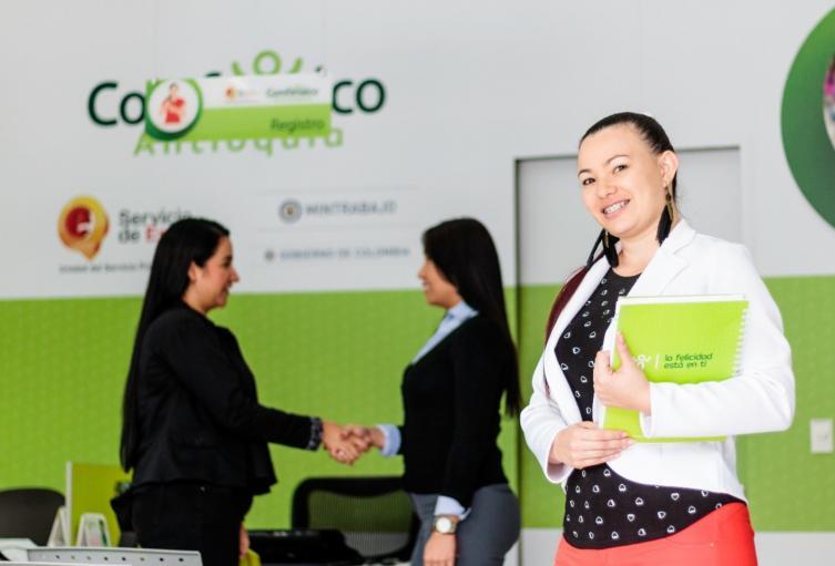 Referencia Agencia de Empleo de Comfenalco Antioquia.