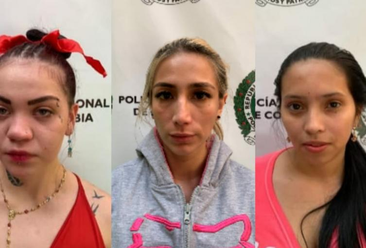 """Capturan a tres mujeres que drogaron y hurtaron a """"gringos"""" en Medellín"""