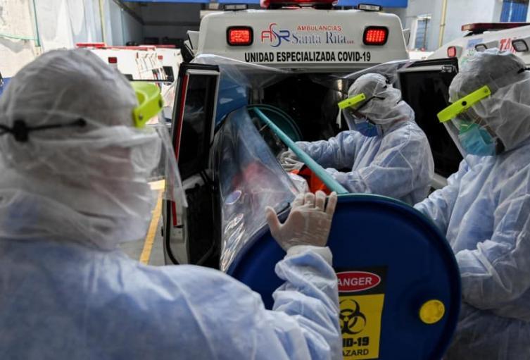 El país ascendió a 1.041.935 casos de coronavirus.