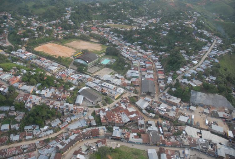 Segovia, Nordeste de Antioquia.